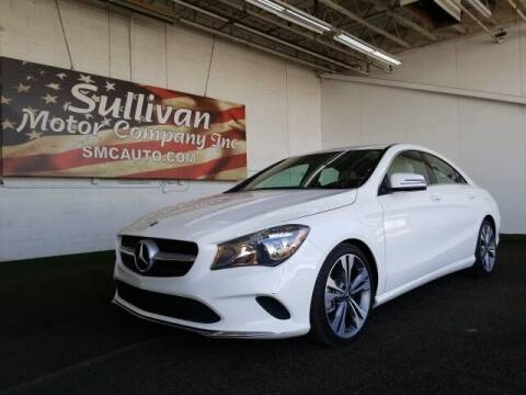 2018 Mercedes-Benz CLA for sale at SULLIVAN MOTOR COMPANY INC. in Mesa AZ