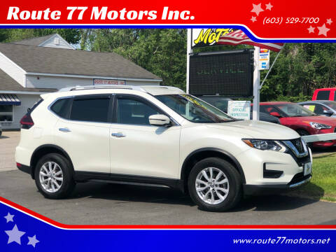 2018 Nissan Rogue for sale at Route 77 Motors Inc. in Weare NH