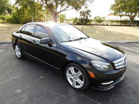 2011 Mercedes-Benz C-Class for sale at SUPER DEAL MOTORS 441 in Hollywood FL