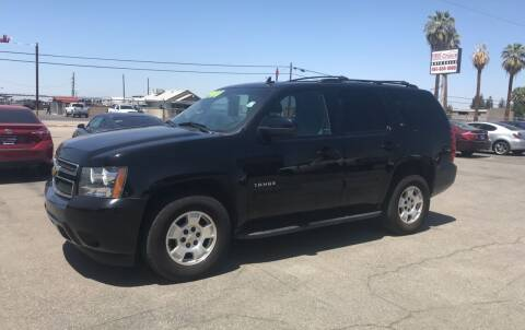 2013 Chevrolet Tahoe for sale at First Choice Auto Sales in Bakersfield CA