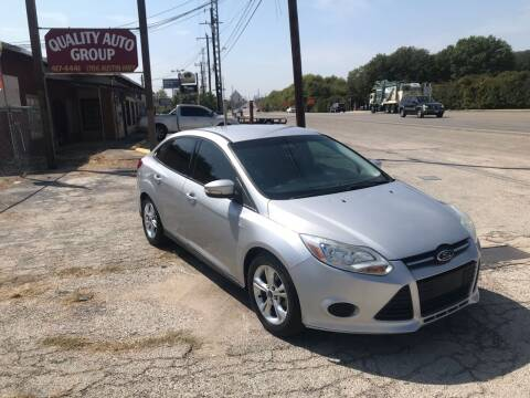 2014 Ford Focus for sale at Quality Auto Group in San Antonio TX