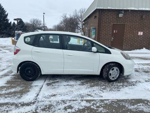2013 Honda Fit for sale at RIVERSIDE AUTO SALES in Sioux City IA