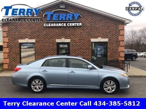 2011 Toyota Avalon for sale at Terry Clearance Center in Lynchburg VA