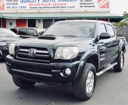 2009 Toyota Tacoma for sale at QUALITY AUTO FINDER in San Diego CA