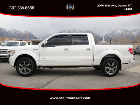 2013 Ford F-150 for sale at S S Auto Brokers in Ogden UT