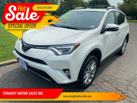 2017 Toyota RAV4 for sale at STRAIGHT MOTOR SALES INC in Paterson NJ