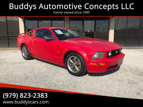 2005 Ford Mustang for sale at Buddys Automotive Concepts LLC in Bryan TX