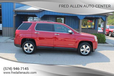 2015 GMC Terrain for sale at Fred Allen Auto Center in Winamac IN