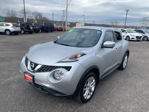 2015 Nissan JUKE for sale at Carmans Used Cars & Trucks in Jackson OH
