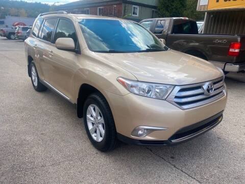2012 Toyota Highlander for sale at Worldwide Auto Group LLC in Monroeville PA