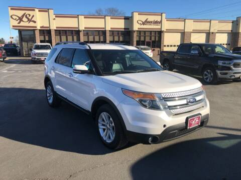 2012 Ford Explorer for sale at ASSOCIATED SALES & LEASING in Marshfield WI