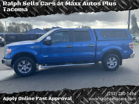 2014 Ford F-150 for sale at Ralph Sells Cars at Maxx Autos Plus Tacoma in Tacoma WA