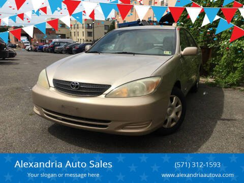 2004 Toyota Camry for sale at Alexandria Auto Sales in Alexandria VA