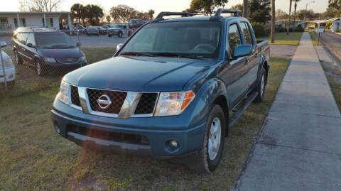 2005 Nissan Frontier for sale at GOLDEN GATE AUTOMOTIVE,LLC in Zephyrhills FL