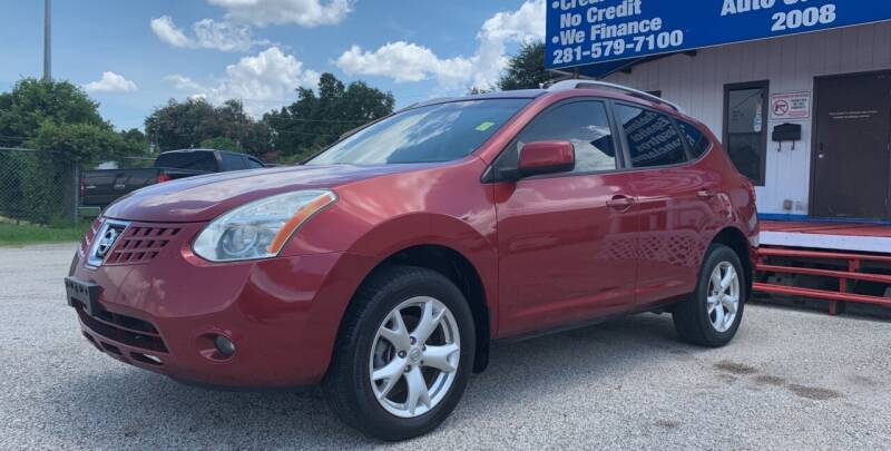 2008 Nissan Rogue for sale at P & A AUTO SALES in Houston TX