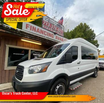 2017 Ford Transit Passenger for sale at Oscar's Truck Center, LLC in Houston TX