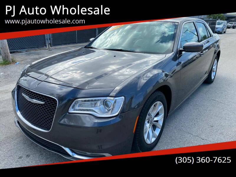2016 Chrysler 300 for sale at PJ AUTO WHOLESALE in Miami FL
