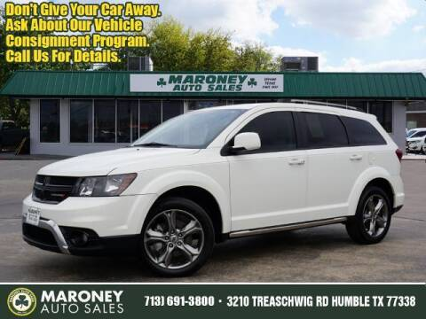 2018 Dodge Journey for sale at Maroney Auto Sales in Humble TX