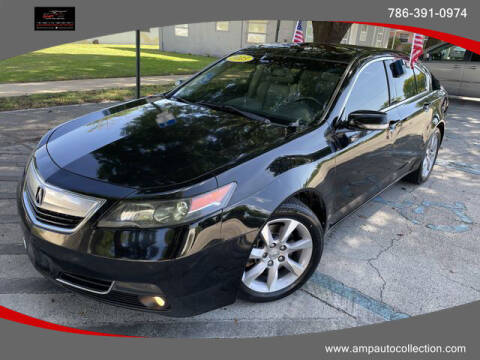 2013 Acura TL for sale at Amp Auto Collection in Fort Lauderdale FL