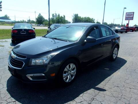 2016 Chevrolet Cruze Limited for sale at DAVE KNAPP USED CARS in Lapeer MI