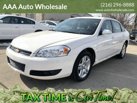 2006 Chevrolet Impala for sale at AAA Auto Wholesale in Parma OH