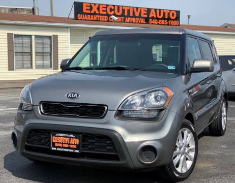 2013 Kia Soul for sale at Executive Auto in Winchester VA
