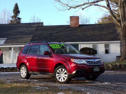 2012 Subaru Forester for sale at The Auto Barn in Berwick ME