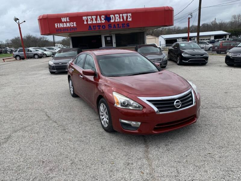 2014 Nissan Altima for sale at Texas Drive LLC in Garland TX