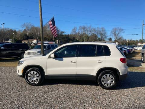 2012 Volkswagen Tiguan for sale at Joye & Company INC, in Augusta GA