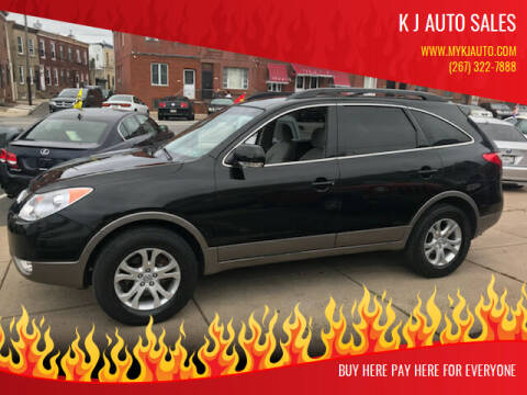 2011 Hyundai Veracruz for sale at K J AUTO SALES in Philadelphia PA