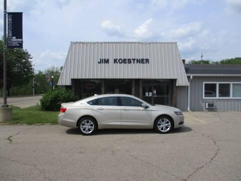 2014 Chevrolet Impala for sale at JIM KOESTNER INC in Plainwell MI