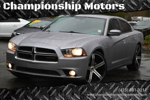 2014 Dodge Charger for sale at Mudarri Motorsports - Championship Motors in Redmond WA