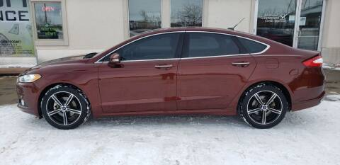 2015 Ford Fusion for sale at HomeTown Motors in Gillette WY