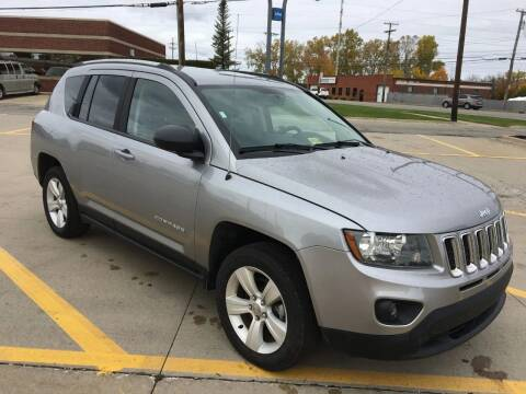2016 Jeep Compass for sale at City Auto Sales in Roseville MI