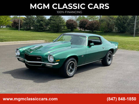 1973 Chevrolet Camaro for sale at MGM CLASSIC CARS in Addison IL