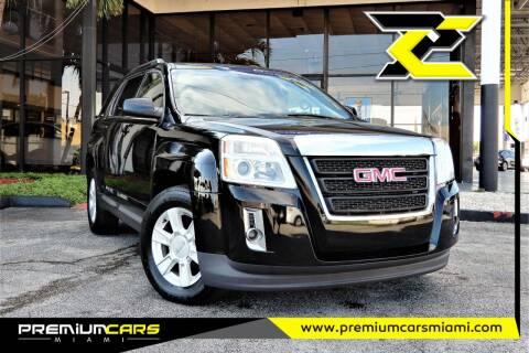 2013 GMC Terrain for sale at Premium Cars of Miami in Miami FL