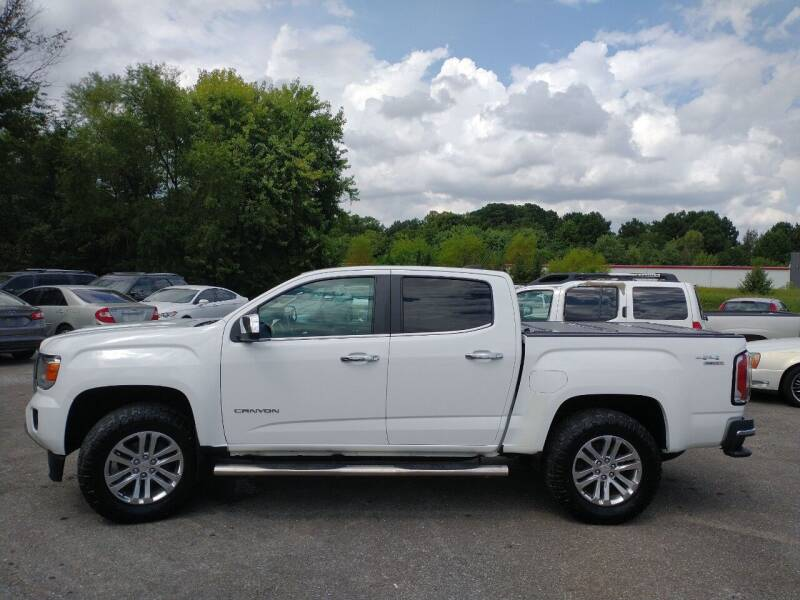 2016 GMC Canyon for sale at Space & Rocket Auto Sales in Meridianville AL