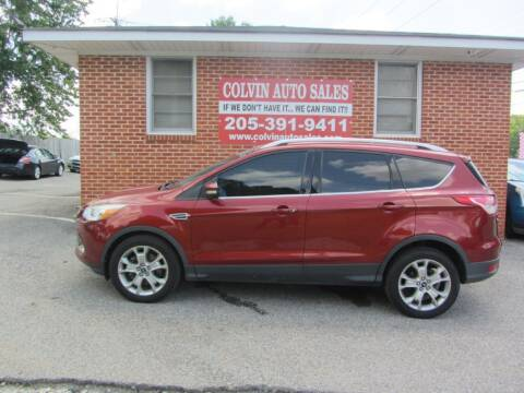 2014 Ford Escape for sale at Colvin Auto Sales in Tuscaloosa AL