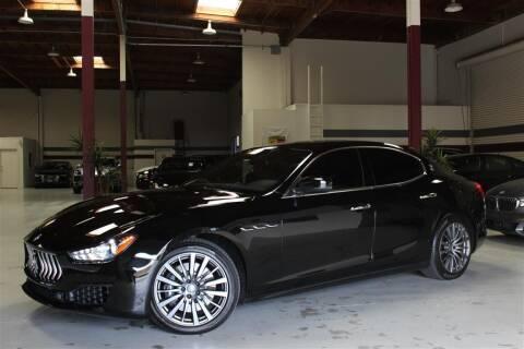 2018 Maserati Ghibli for sale at SELECT MOTORS in San Mateo CA