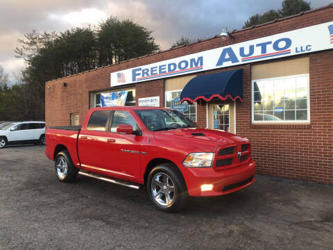 2012 RAM Ram Pickup 1500 for sale at FREEDOM AUTO LLC in Wilkesboro NC