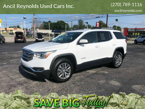 2017 GMC Acadia for sale at Ancil Reynolds Used Cars Inc. in Campbellsville KY