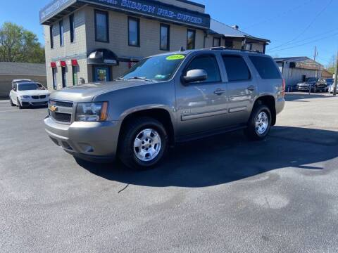 2012 Chevrolet Tahoe for sale at Sisson Pre-Owned in Uniontown PA