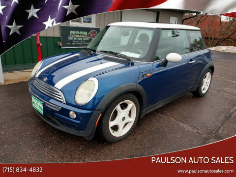 2003 MINI Cooper for sale at Paulson Auto Sales in Chippewa Falls WI