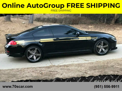 2005 BMW 6 Series for sale at Online AutoGroup FREE SHIPPING in Riverside CA