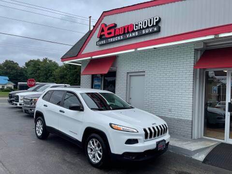 2014 Jeep Cherokee for sale at AG AUTOGROUP in Vineland NJ
