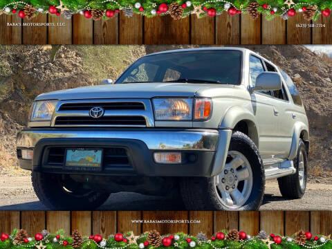 2000 Toyota 4Runner for sale at Baba's Motorsports, LLC in Phoenix AZ