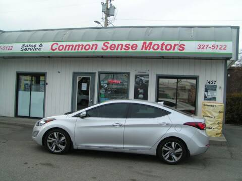 2016 Hyundai Elantra for sale at Common Sense Motors in Spokane WA