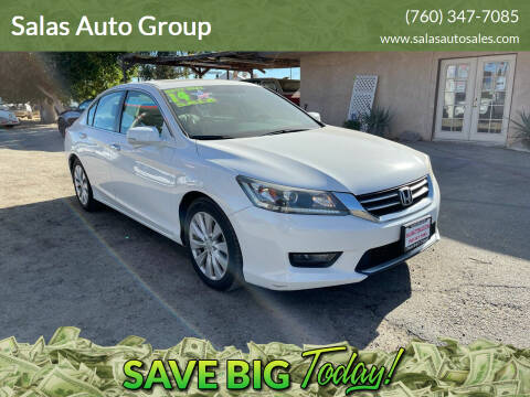 2014 Honda Accord for sale at Salas Auto Group in Indio CA