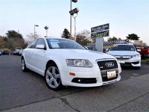2008 Audi A6 for sale at Save Auto Sales in Sacramento CA