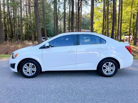 2015 Chevrolet Sonic for sale at H&C Auto in Oilville VA
